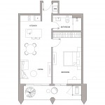 Urbanland - Embassy Central - Phnom Penh Luxury Condominium - A3 Unit floor plan